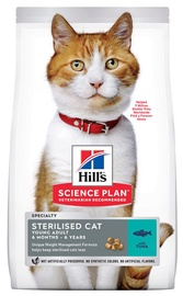 Hill's Science Plan Sterilised Cat Young Adult Food w/ Tuna 10kg