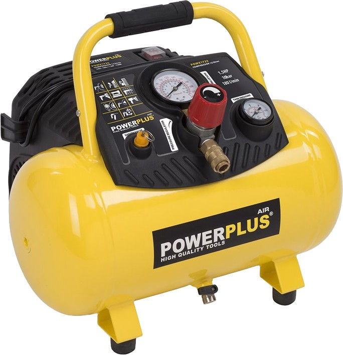 Компрессор Powerplus POWX1723, 1100 Вт
