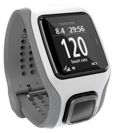 TomTom Runner Cardio GPS White/Light Grey