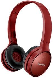Belaidės ausinės Panasonic RP-HF410BE-K Red