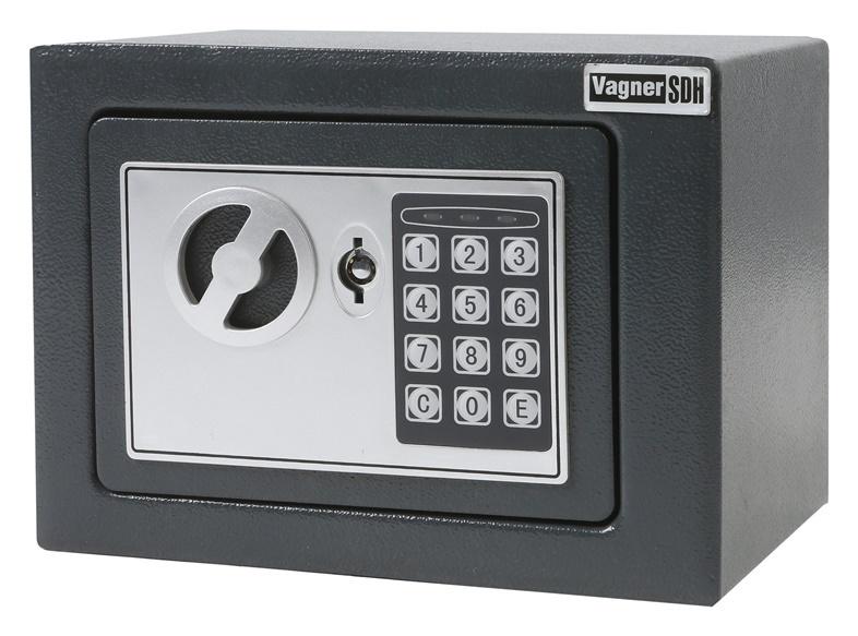 Elektrooniline seif Vagner, 230x170x170 mm
