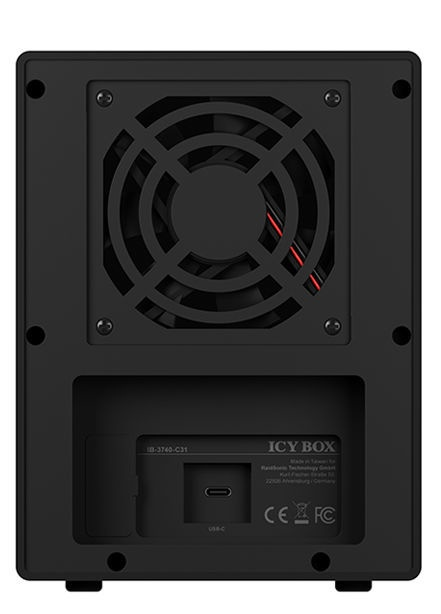 ICY Box USB 3.1 SATA III to Type-C
