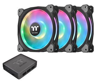 Thermaltake Riing Duo 12 LED RGB TT Premium Edition 120mm 3 Pack