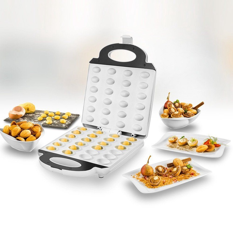 Unold Waffle Maker 48360 Silver/White