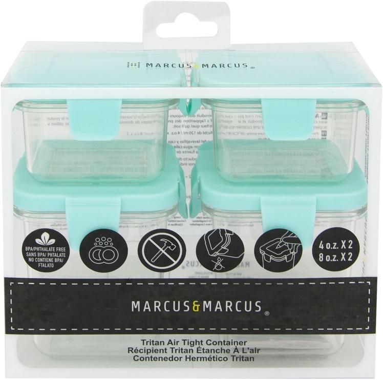Marcus & Marcus Tritan Air Tight Container 4pcs