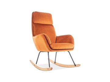Signal Meble Hoover Rocking Chair Orange