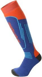 Mico Kids Superthermo Ski Sock Blue/Orange 27-29