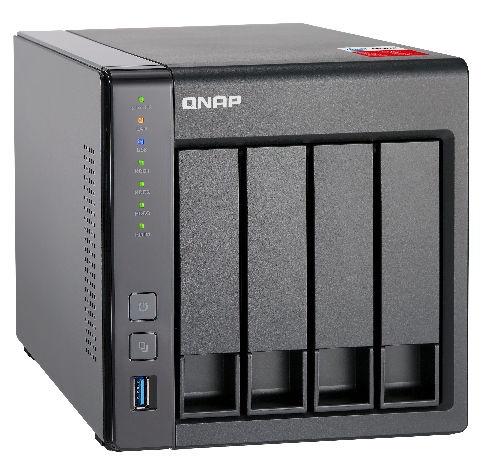 QNAP TS-451+ 2GB RAM 4-Bay NAS