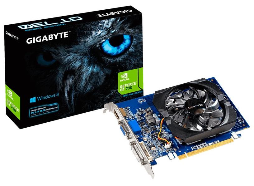 Gigabyte GeForce GT730 2GB GDDR3 PCIE GV-N730D3-2GIV2.0