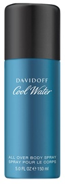 Vyriškas dezodorantas Davidoff Cool Water Spray, 150 ml