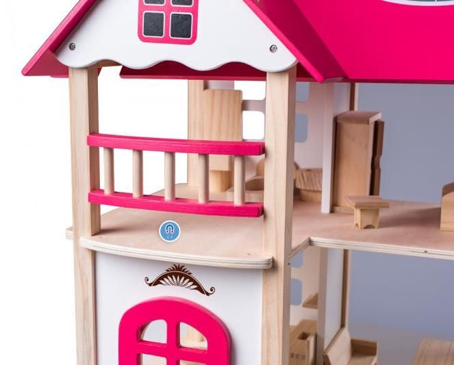 Woody Modern Anna Marie House With Furniture 91874