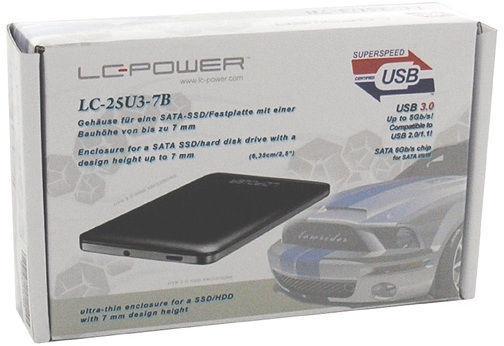 LC-Power LC-25U3-7 Black