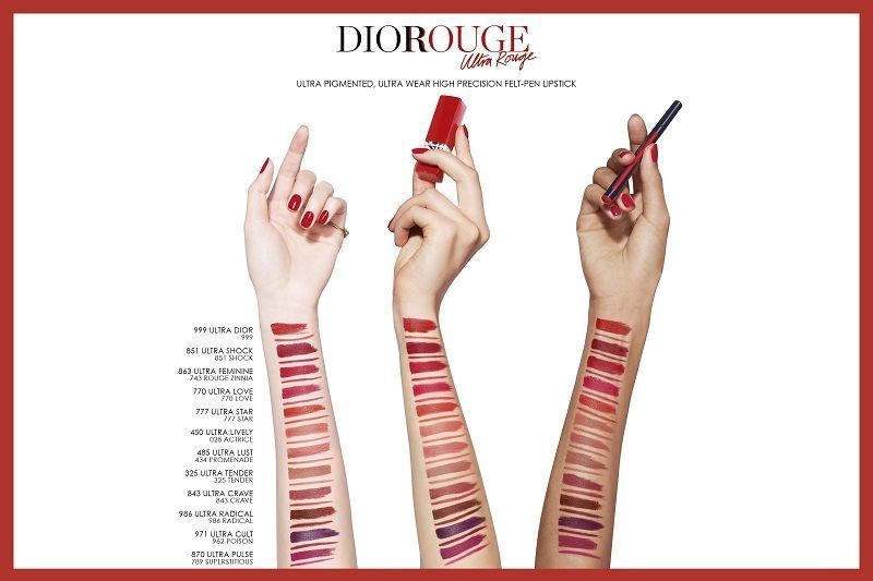 Christian Dior Rouge Dior Ultra Rouge 3.2g 533 Limited Edition