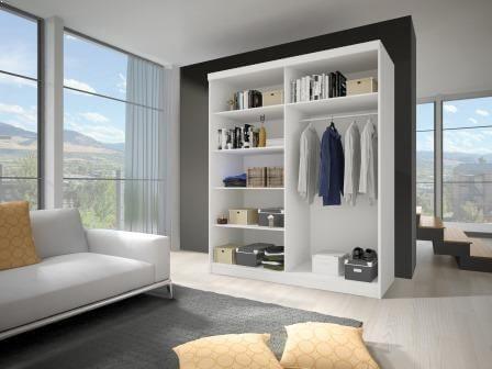 Idzczak Meble Wardrobe Multi 10 183cm White
