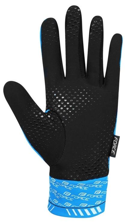 Force Extra 17 Full Gloves Blue/Black L