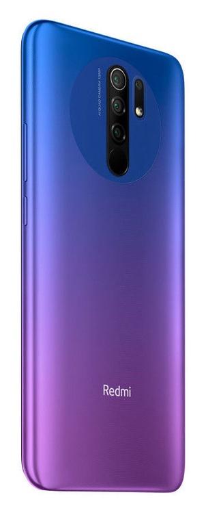 Mobilusis telefonas Xiaomi Redmi 9, violetinis, 4GB/64GB