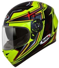 Shiro Helmet SH-600 Pons Black Fluor Yellow XL