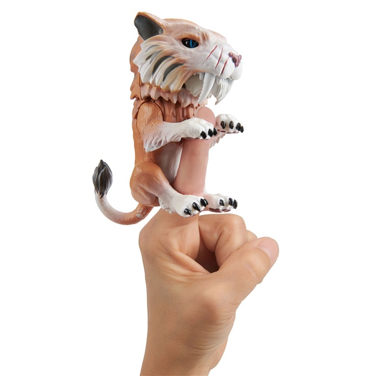 Interaktyvus žaislas Fingerlings Untamed Baby Sabre Tooth Bonesaw