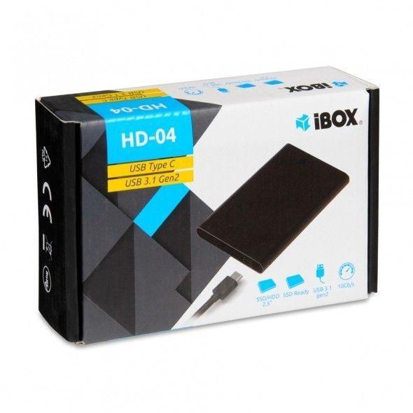 """IBOX HD-04 2.5"""" USB 3.1 Black"""