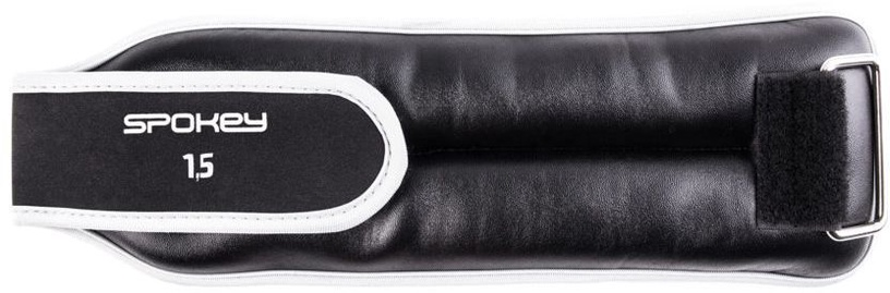 Spokey Cross Form Wrist Weight 2x1.5kg Black/White
