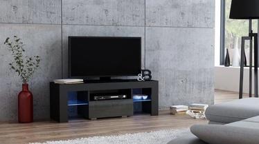 TV-laud Pro Meble Milano 110 Black/Grey, 1100x350x450 mm