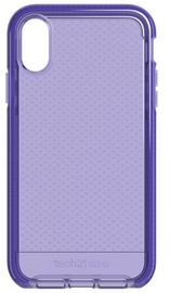 Tech21 Evo Check Back Case For Apple iPhone XR Purple