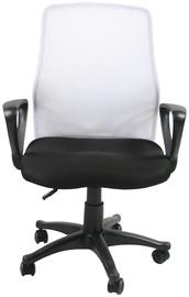 Biroja krēsls Evelekt Treviso 27705 Black / White
