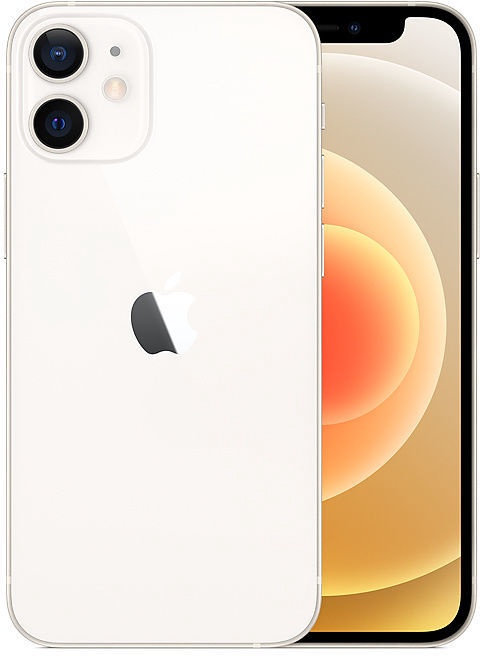 Mobilusis telefonas Apple iPhone 12 mini White, 64 GB