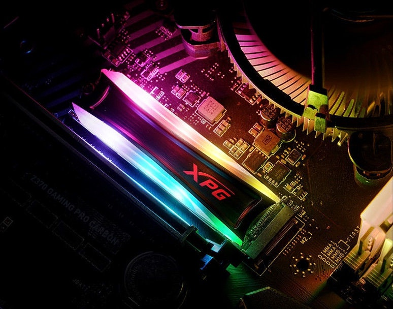 ADATA XPG SPECTRIX S40G RGB 256GB PCIe Gen3x4 M.2 2280 Solid State Drive