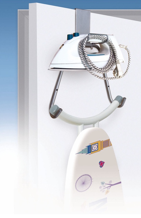 Rayen Ironing Board And Iron Holder