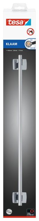 Держатель для полотенец Tesa 40264, 73 мм x 646 мм x 60 мм, Металл