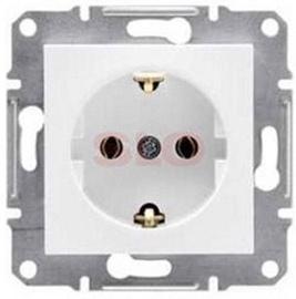 Kištukinis lizdas Schneider Electric Asfora BA EPH2900821, baltas