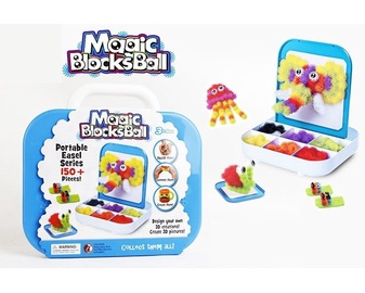 Rotaļu komplekts Magic Blocks Ball