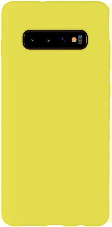 Evelatus Soft Back Case For Samsung Galaxy S10 Plus Yellow