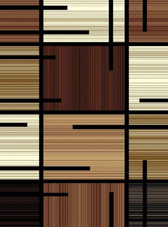 Kilimas Alfa 3296/b11, įvairių spalvų, 200x140 cm