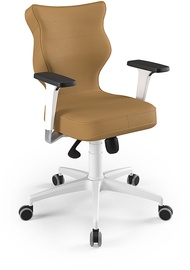 Entelo Perto White Office Chair VE26 Beige