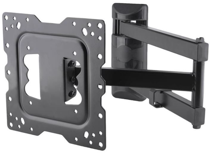 4World Wall Mount for TV 15-43'' Black