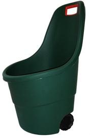 Keter Easy Go Wheelbarrow 55L Dark Green