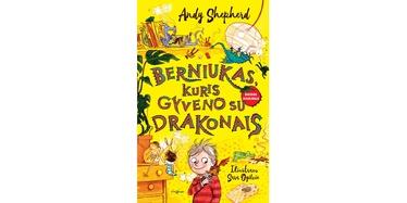 Knyga Berniukas, kuris gyveno su drakonais