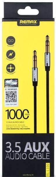 Remax L100 3.5mm Aux Jack Cable 1m Red