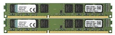 KINGSTON 16GB DDR3 1600MHz CL11  Kit Of 2 KVR16LN11K2/16