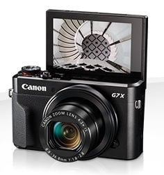 Canon PowerShot G7 X Mark II Black