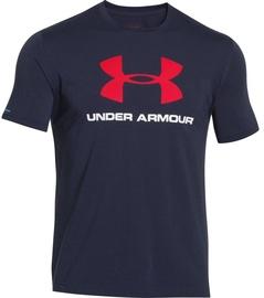 Under Armour T-Shirt CC Sportstyle L 1257615-410 Blue S