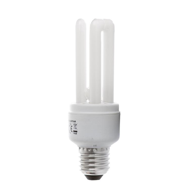 Kompaktinė liuminescencinė lempa Osram T4, 15W, E27, 2700K, 850lm