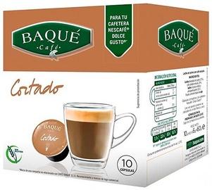 Кофе в капсулах Cafe Baque, 0.06 кг, 10 шт.