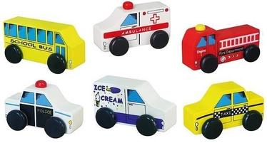 Viga City Vehicles Set 6pcs 59506