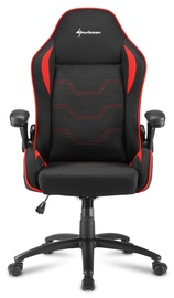 Sharkoon Elbrus 1 Gaming Chair Black Red