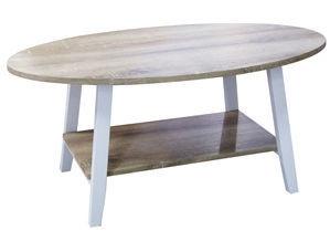 Verners Coffee Table Jackob Oak White 557726