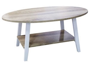 Verners Coffee Table Jackob Oak White 557726