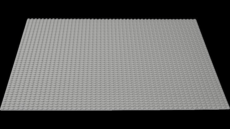 Alusplaat LEGO Classic 10701 Gray